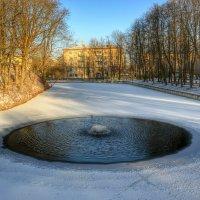 Поединок воды со льдом :: Милешкин Владимир Алексеевич