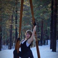 полёты в лесу и на снегу :: Константин Антошкин