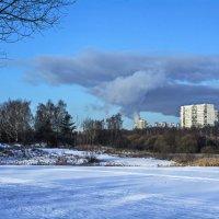А за городом зима ... :: Василий Аникеев