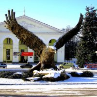 Символ города в Новом году. :: Борис Митрохин