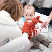 Малыш и белочка :: Anna Lipatova