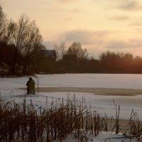 Зимняя рыбалка :: Оксана Лада