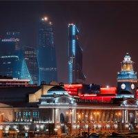 Взгляд на Москва сити с Киевского вокзала :: Павел Корнеев