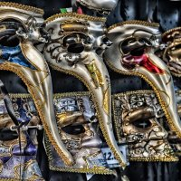 Карнавальные маски.Венеция :: Фима Гезенцвей