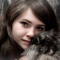 Таня и Мишелька. :: Olga Kramoreva