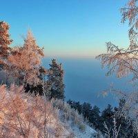 Морозное утро на берегу Оби :: И.В.К. ))