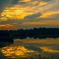 вечер на реке :: Сергей Цветков