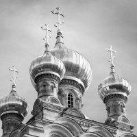 Золотые купола церкви Марии Магдалины :: Alevtina Zibareva