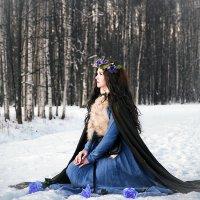 Нимфа - Зимние сказки :: Алексей Шехин