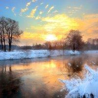 Рождественский закат...5. :: Андрей Войцехов