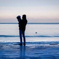 Зимнее море :: Женечка Зяленая