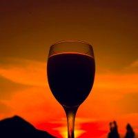 романтичный закат :: Hурсултан Ибраимов фотограф