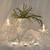 Шел тихий снег под Рождество... :: Валентина Колова