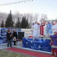 Дед Мороз с поздравлением . :: Мила Бовкун