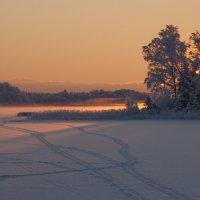 утро начинается с рассвета... :: liudmila drake