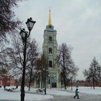 Колокольня Свято-Успенского собора 1764г., восстановлена в 2014г. :: Людмила Ларина