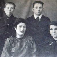 Двоюродные братья и сёстры. 1948 год :: Нина Корешкова