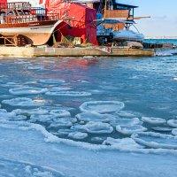 Мороз в Анапской бухте :: Елена Васильева