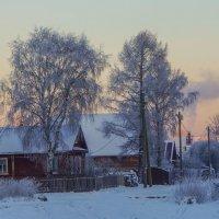 Морозное утро :: Анатолий