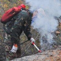 на пожаре... :: Сергей Резниченко