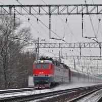 Электровоз ЧС7-009 :: Денис Змеев
