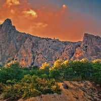 Горы :: Мария Богуславская