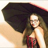 дама с зонтом :: Юлия Денискина