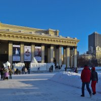 Новосибирск новогодний :: cfysx