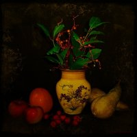 Ваза и фрукты :: Nina Yudicheva