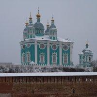 Соборная гора города Смоленска. Успенский кафедральный собор. :: Galina Leskova
