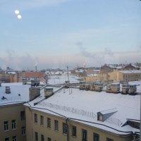 Вид на крыши с птичьего полета! :: Светлана Калмыкова