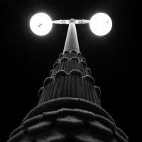 Замерзший фонарь :: Сергей Зыков