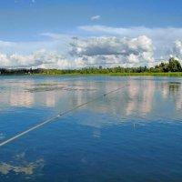 Гляжу в озёра синие :: Александр Гурьянов