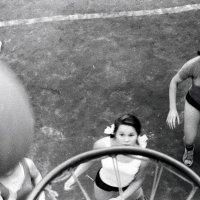"""Архангельск. Стадион """"Динамо"""", 1963. Наши школьные соревнования (3) :: Владимир Шибинский"""