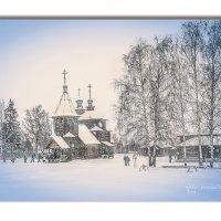 История. Преображенская церковь из с. Козлятьево  Кольчугинского района (1756 год) :: Алла ************