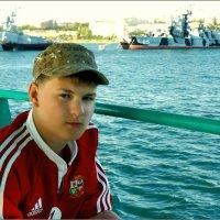 Портрет с боевым кораблём... :: Кай-8 (Ярослав) Забелин