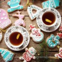 Имбирное печенье с белковой глазурью (айсингом) :: Наталья Майорова