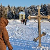 Крест на святом Дымском озере :: Юрий Тихонов