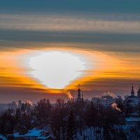 закат во Владимире :: Сергей Цветков