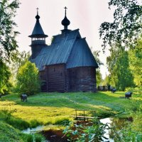 Церквушка. :: Олег