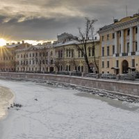 Последние лучи короткого дня :: Valeriy Piterskiy