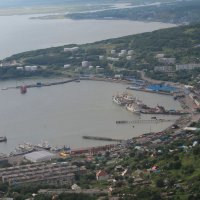 вид на Авачинскую бухту :: Валентина Боровкова