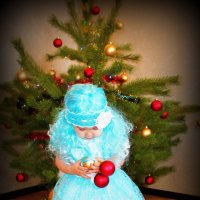 Маленькая снегурка :: Алина Лисовская