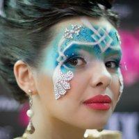 Новогодний макияж . :: Андрей Якимюк