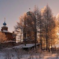 Зимним утром, на рассвете :: Николай Белавин