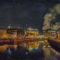 Скоро ночь. Тут фонари теперь всем правят. :: Ирина Данилова