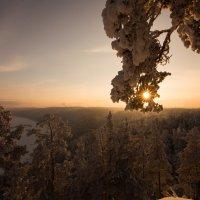 Закат в январе :: Аннета /Анна/ Шу