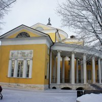 Главный господский дом-дворец :: Елена Павлова (Смолова)