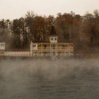 Курящее озеро Хевиз. :: Natali Bel.