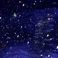 Синяя зима :: Владимир Волик